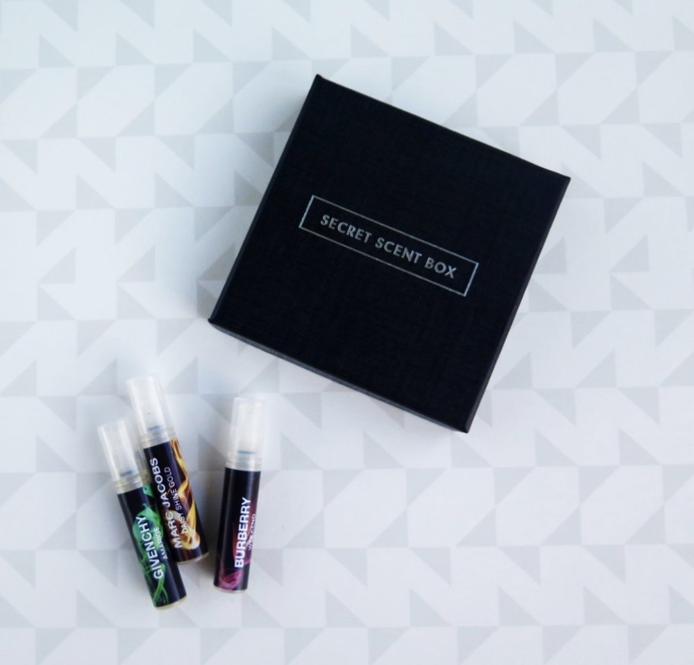 THE SECRET SCENT BOX REVIEW