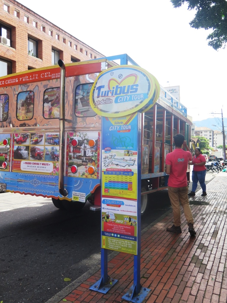 TuriBus City Tour, Medellín, Colombia