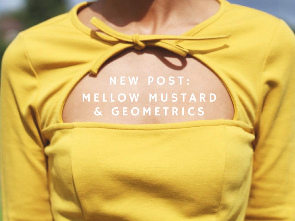 MELLOW MUSTARD & GEOMETRICS