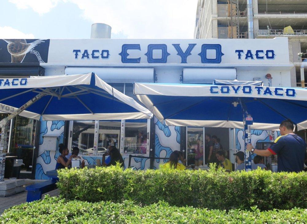Coyo Taco, Wynwood, Miami