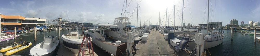 San Juan Bay Marina - panoramic