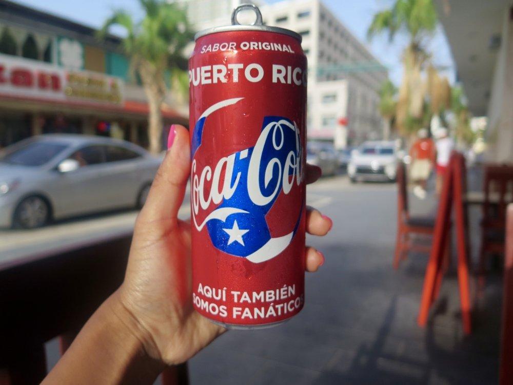 Coca Cola, Puerto Rico