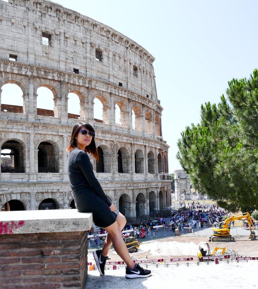 Gelato > Colosseum #truth