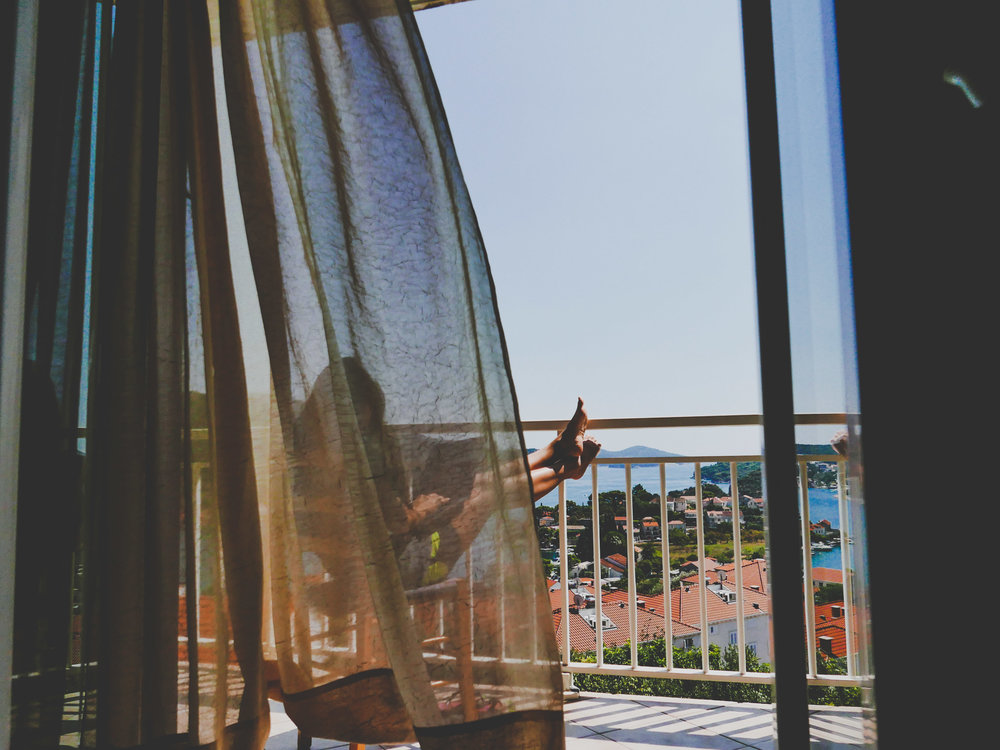 One of the best #hostelviews at Hostel Dubrovnik Sunset