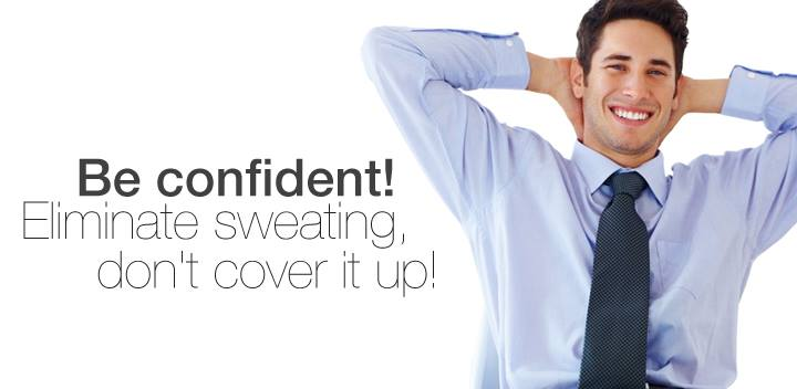 Don't sweat it! Botox can easily treat excessive perspiration!
