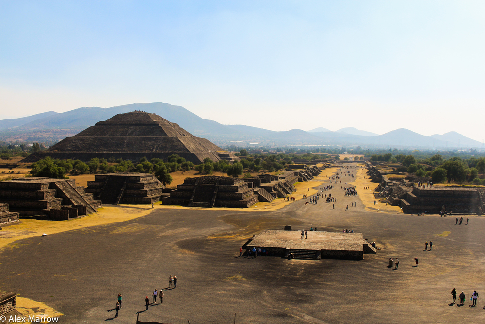 Teotihuacan, Mesoamerican Pyramids