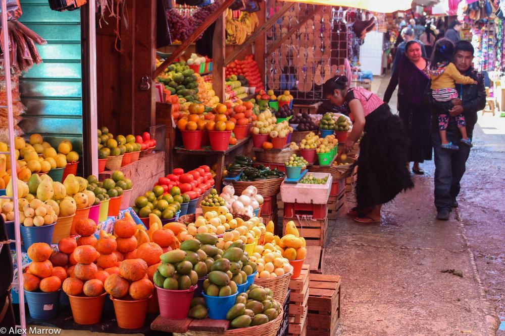 The Market in San Cristobal de las Casas