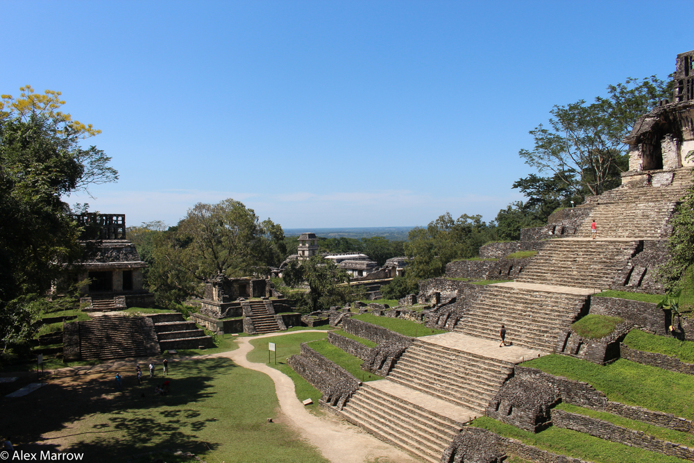 Mayan Temples, Palenque