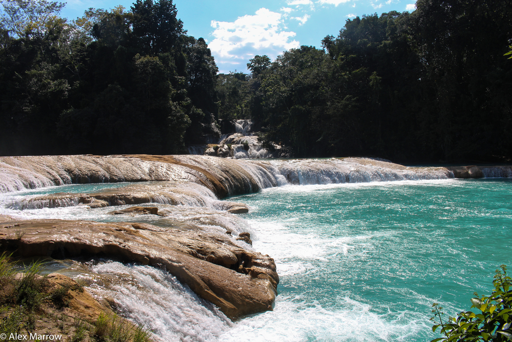 Agua Azul Waterfalls, Chiapas