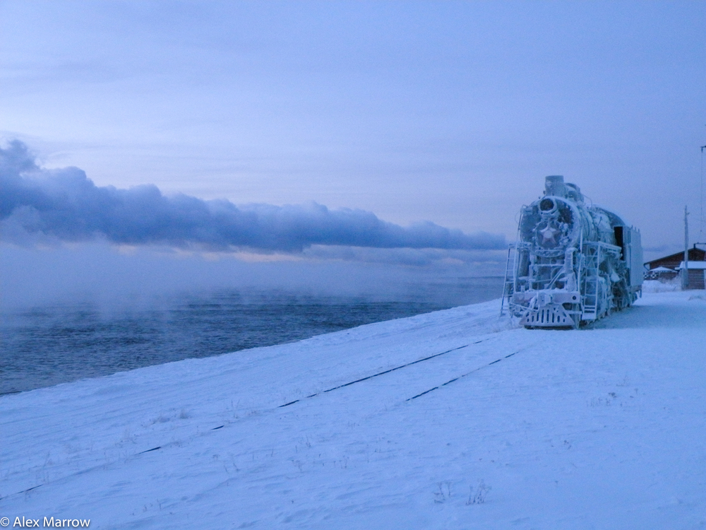 The Frozen Train, Lake Baikal