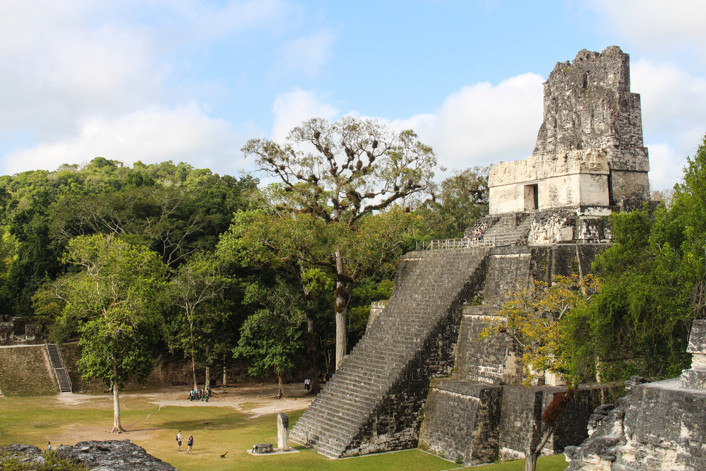 Temple 2 in Tikal