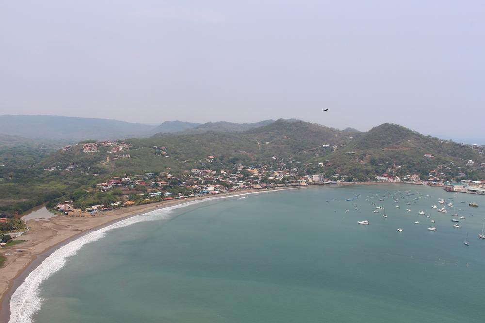The bay at San Juan del Sur