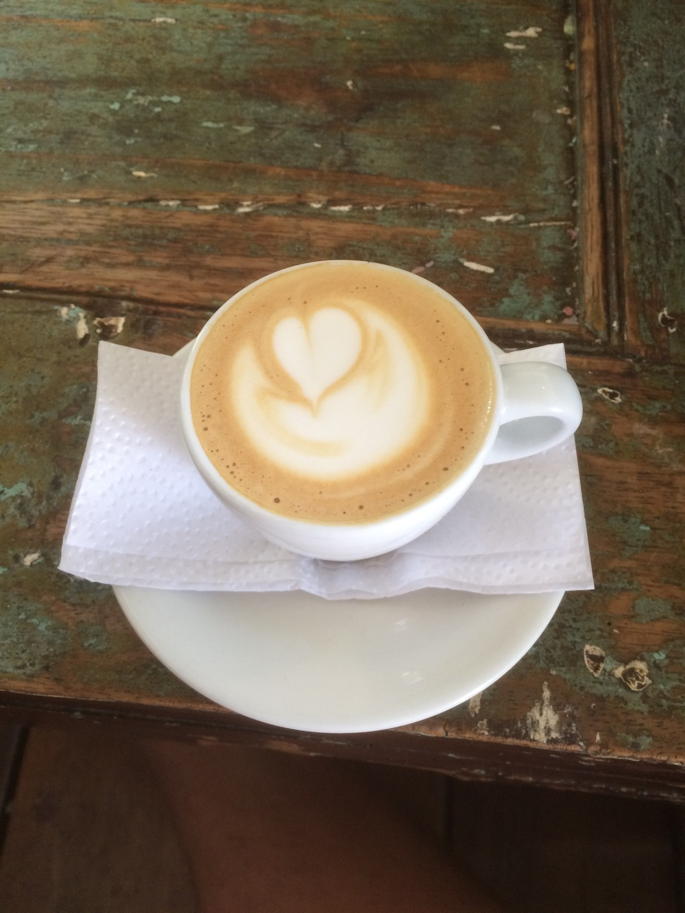 A locally-sourced macchiato