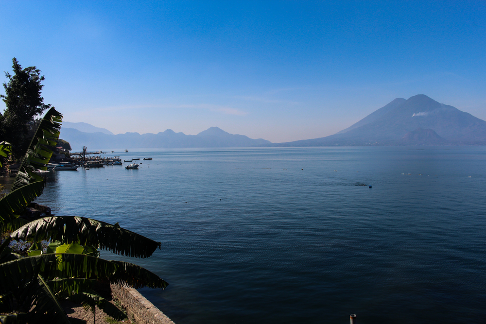 The view of Lake Atitlan, near where many retreaters are based