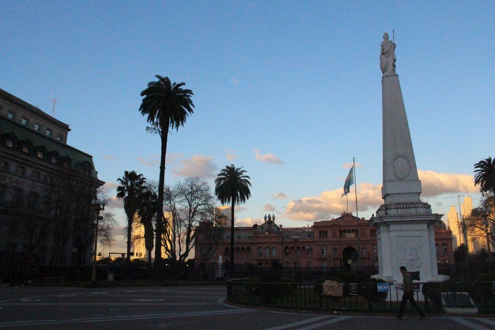 The Casa Rosada, Argentina's Presidential Office
