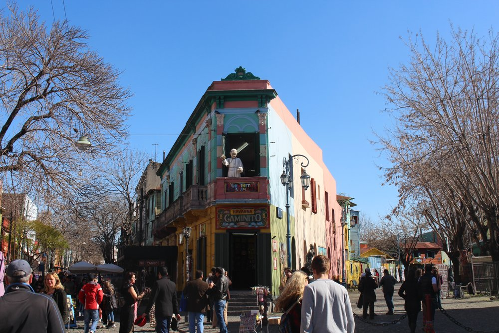 La Boca in Winter