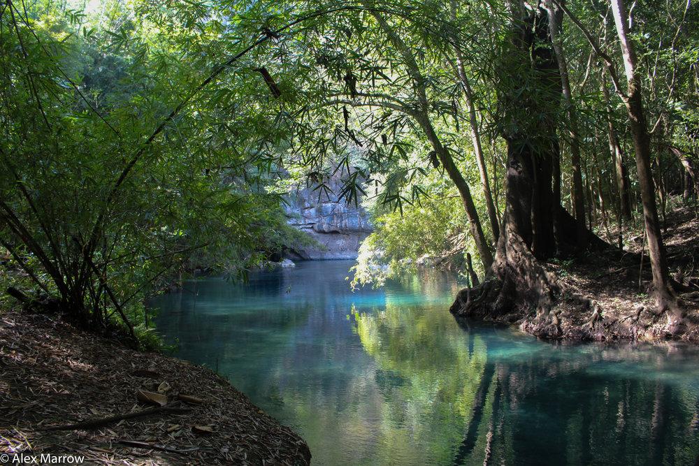 El Nascimento River, Mexico