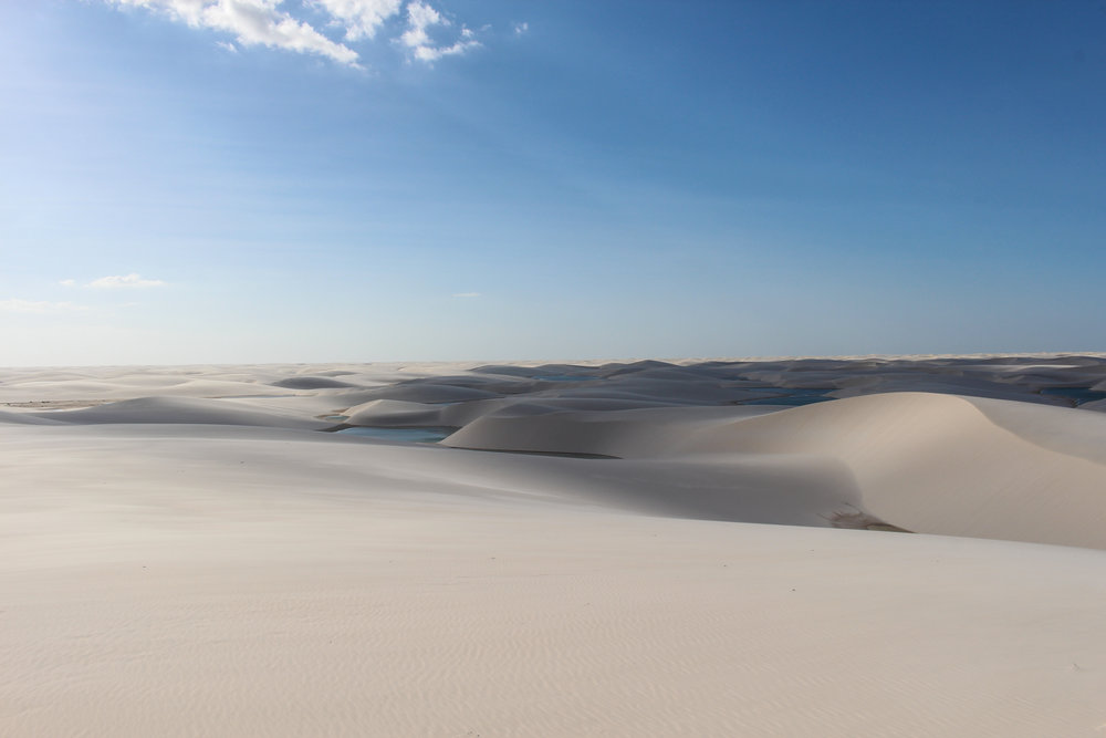 The heavenly tranquility of Lençois Maranhenses