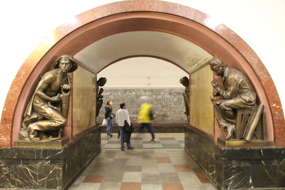 Belorusskaya Station, Ring Line