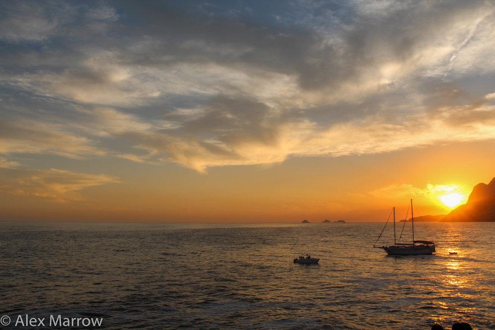 The View From Arpoador, Rio de Janeiro