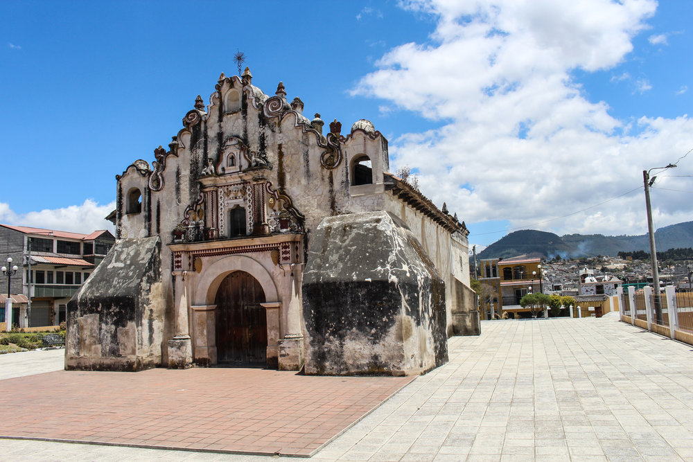 The oldest church in Central America