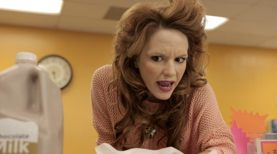 "Still of Rhonda in ""Chocolate Milk the Movie"""