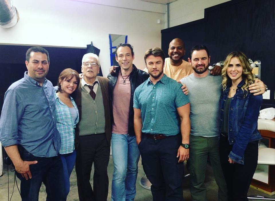 'Encounter' film (2017) cast w/ Dir. Paul Salamoff