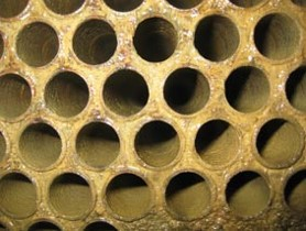 Day 1 - Condenser Tubes cleaned before Hydroflow - Picture 1
