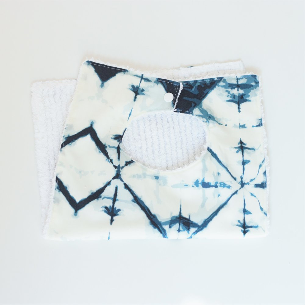 Toddler Bib. Cotton Bib. Washable Bib.