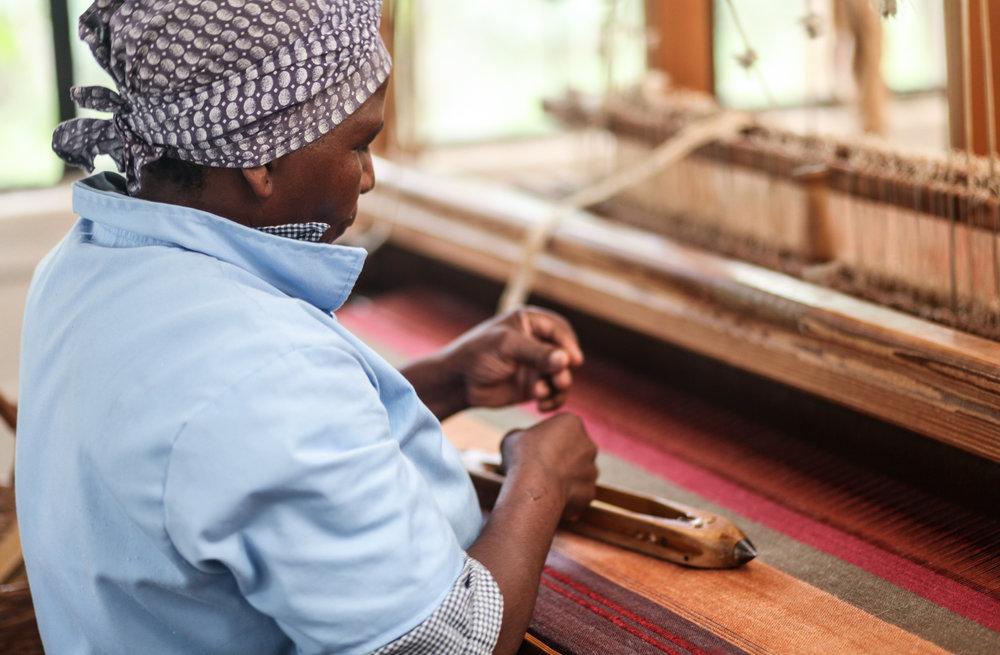 Handwoven in Swaziland