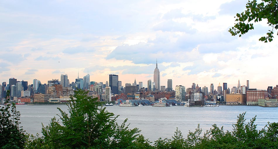 Midtown Manhattan, from Hoboken
