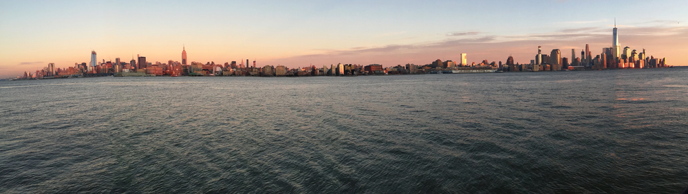 Manhattan, from Hoboken