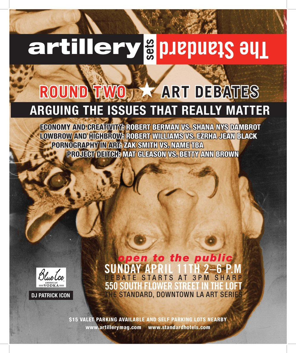 ad for Artillery mag