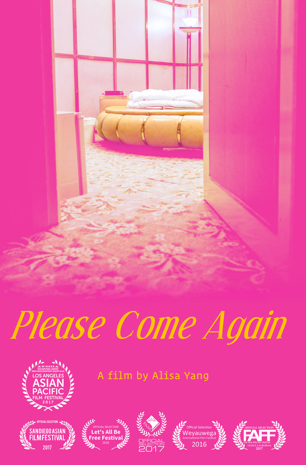 Please Come Again film poster 2017