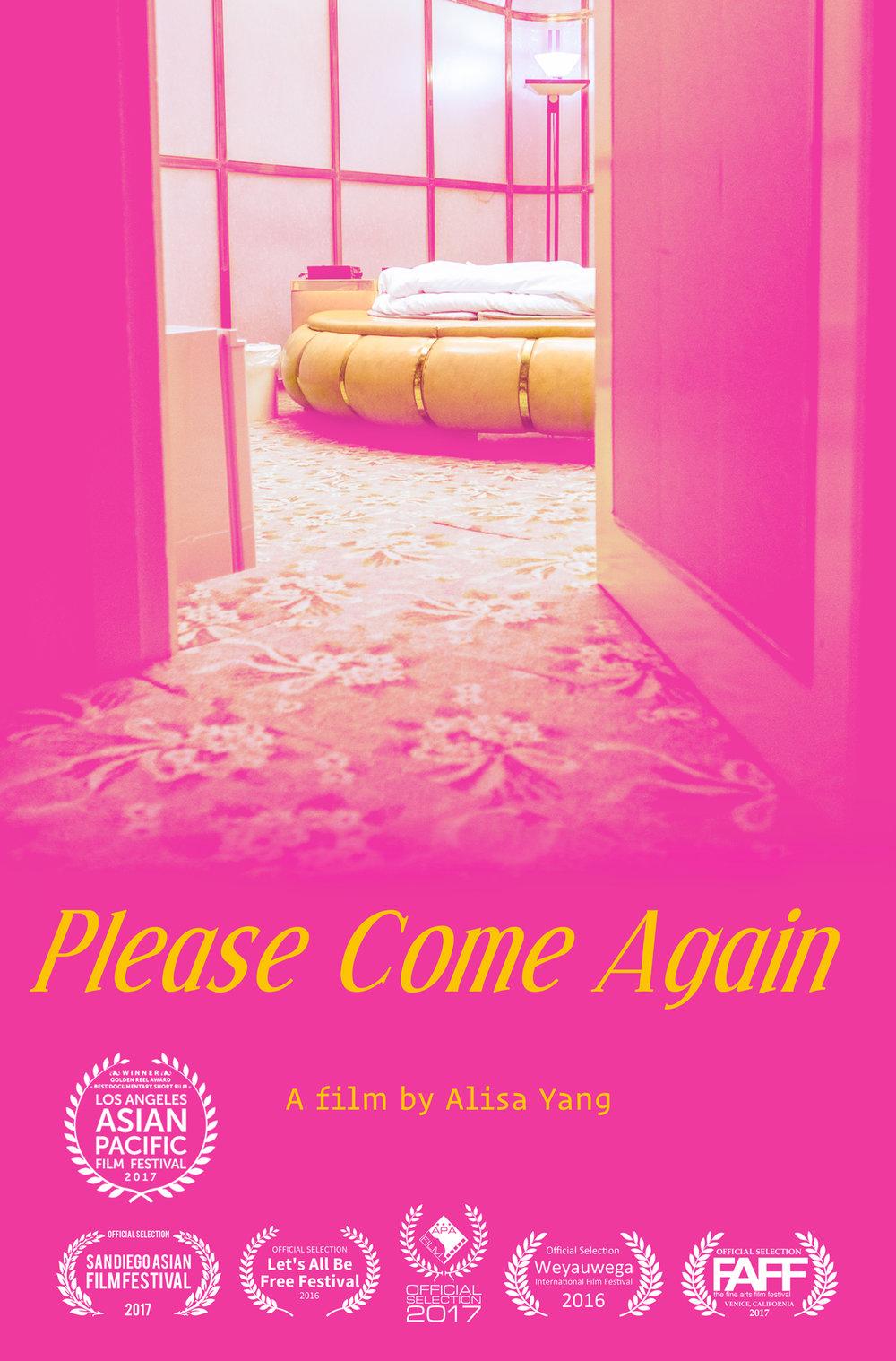 Please Come Again film poster 2017