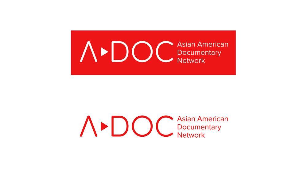 Logo design for Asian American Documentary Network