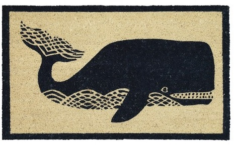 Target: Threshold Whale Outdoor Mat