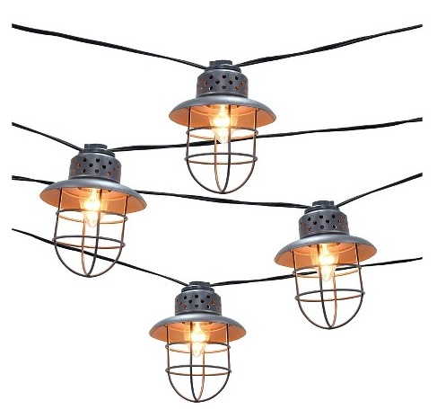 Target: Smith & Hawken Metal Cage Lights
