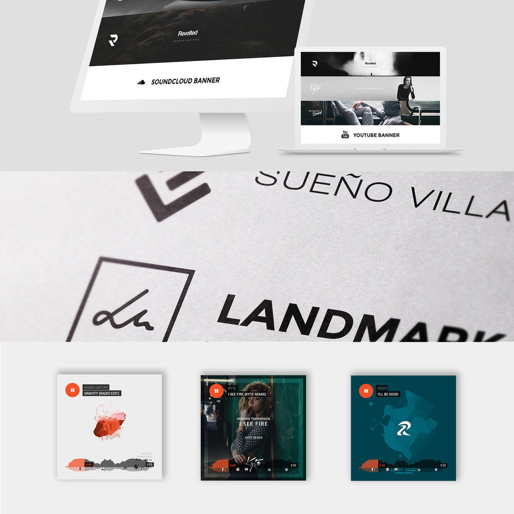 Graphic Design — Dharma Media Group