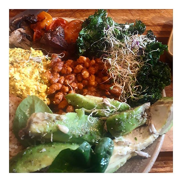 Breathe out and relax..it's the WEEKEND😎...start your day with our Tri Melbourney Brunch..delicious plant based proteins, will help you prepare for all your xmas shopping, are you on that yet? Us neither!🤣 . .  #triprana #socialenterprise #tottenham #london #haringey #cafe #love #london #haringey #cafe #yoga #vegan #vegetarian #meatfree #plantbased #saturday #weekend #mind #mindbodysoul #avocado #kale #tofu #alfalfa #livewell #health #fitness