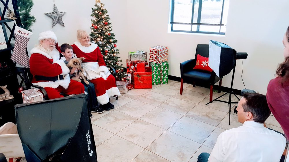Photos with Santa Event