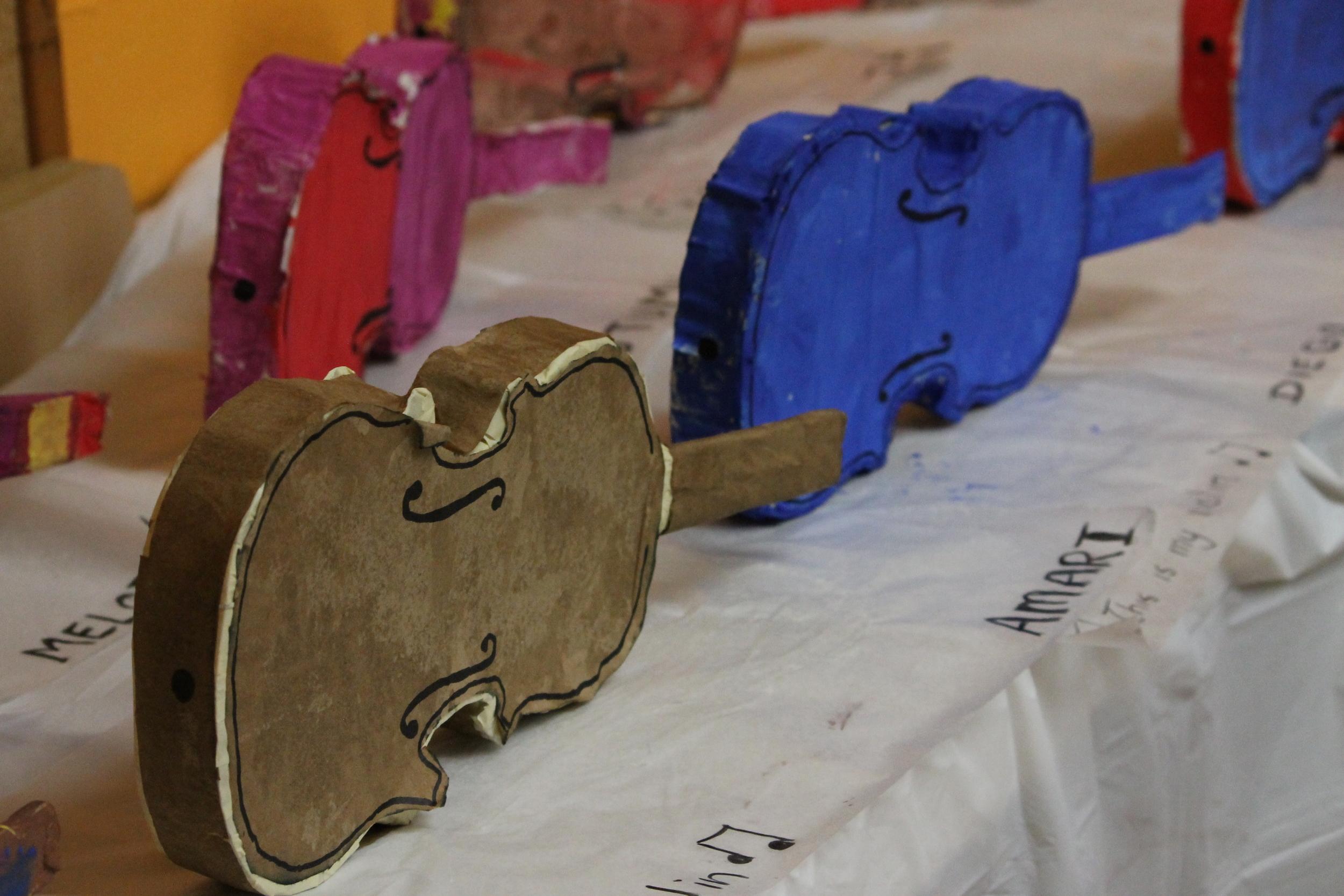 Paper violins