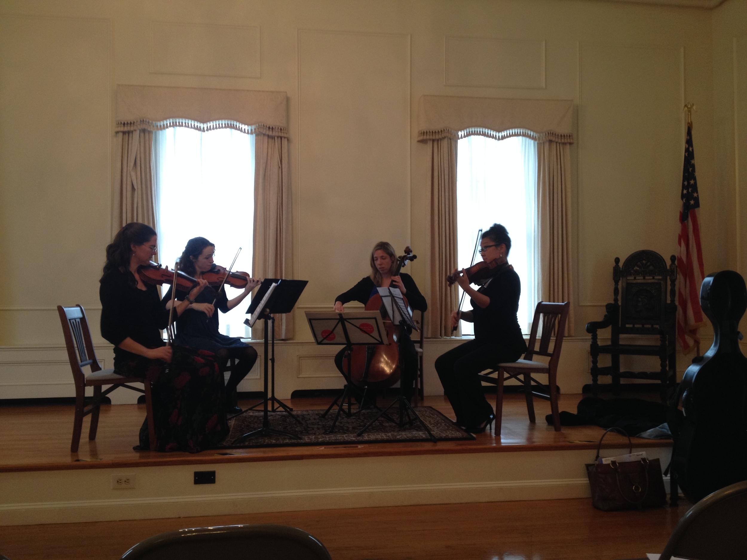 Quartet at ekh