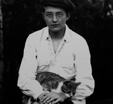 Shostakovich with his cat