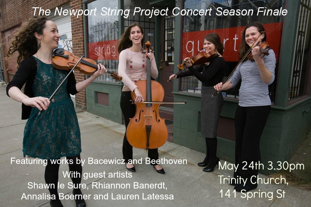 Fellows Quartet Concert Flyer