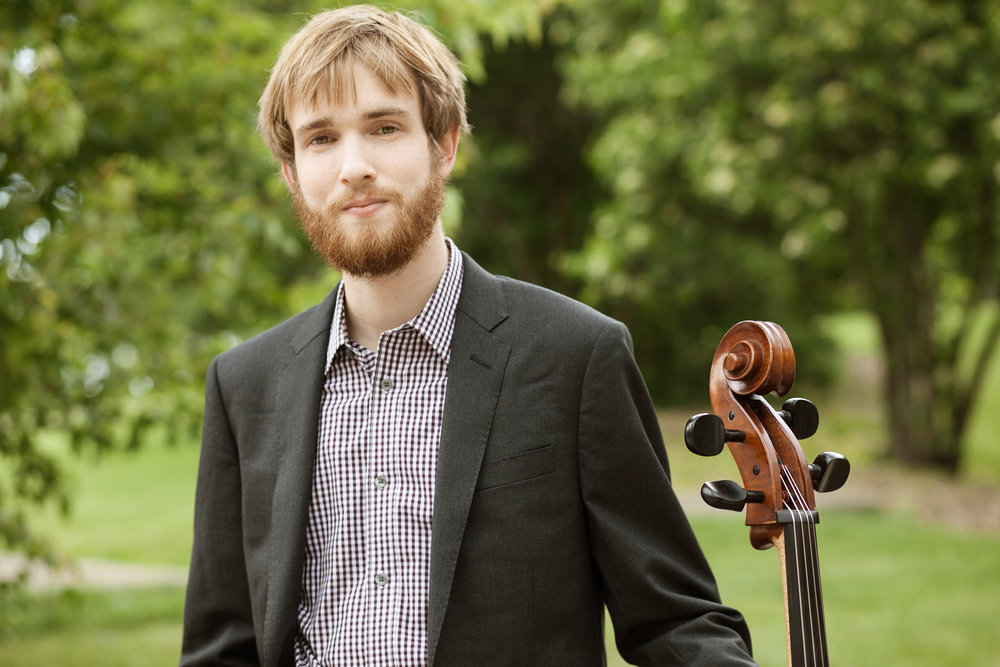 Zan Berry - Associate Musician and Cellist with the Newport String Project
