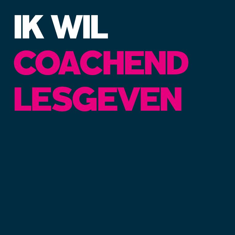 coachend lesgeven