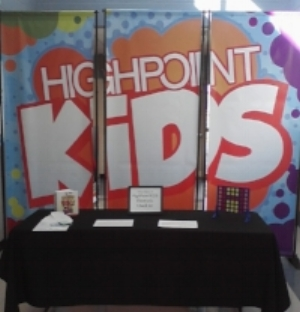 HIGH POINT KIDS We love kids at HighPoint! We consider it a priority to create an environment where children will feel loved, valued, and where they can learn about God's Word. During our services, we offer HighPoint Kids classes for kids age 0 up to 5th grade! Our amazing teachers dance with the kids in worship time, play games, tell exciting Bible stories, and lead small group discussions that encourage kids to apply God's Word to their lives. Every day is a great day in HighPoint Kids!