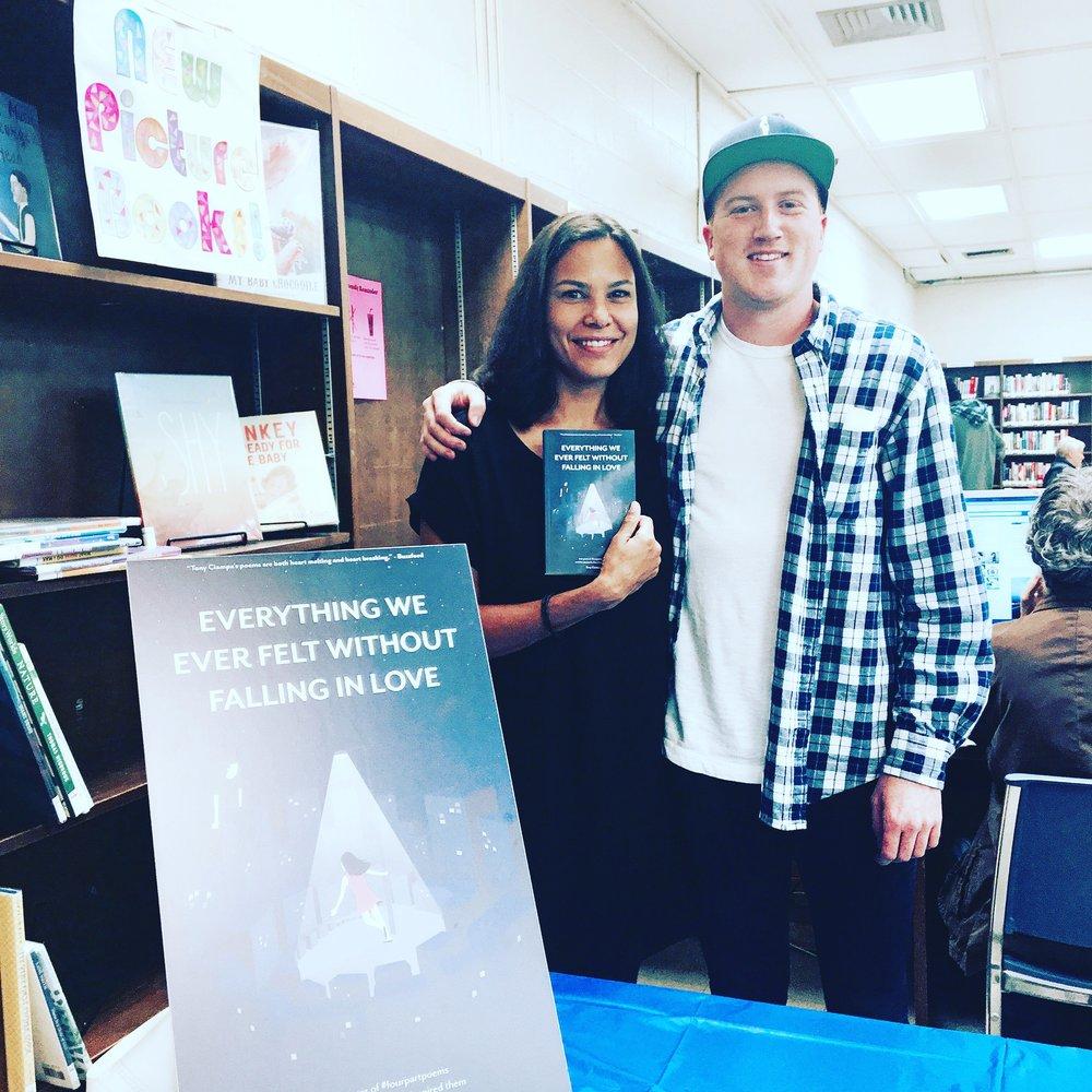 Marina Aris and Tony Ciampa Indie Author Day