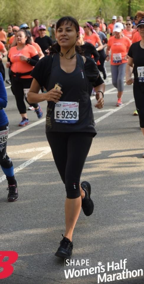 2017 Shape Half Marathon Marina Aris
